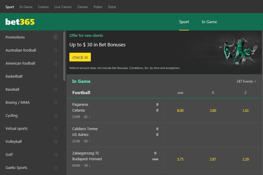 Bet365: The Best Betting and Gambling Website
